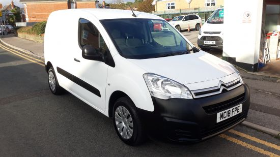used vehicle 2018 '18' Citroen Berlingo Enterprise 100bhp