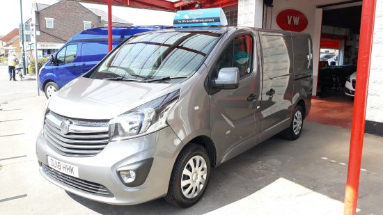 used vehicle 2018 '18' Vauxhall Vivaro Sportive SWB 120ps