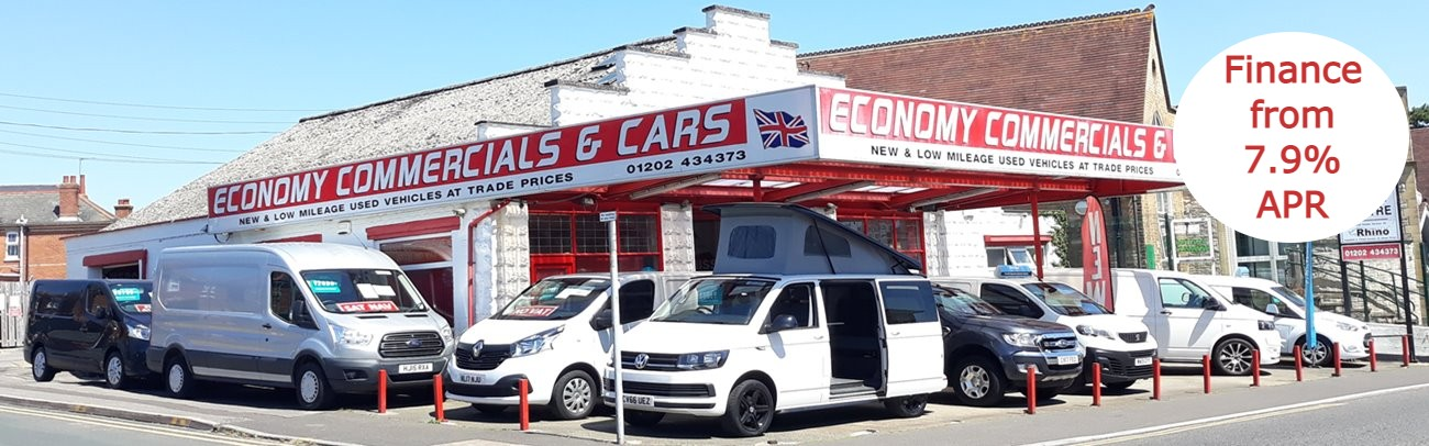 Economy Commercials Bournemouth - New & Used Vans & Cars for Sale