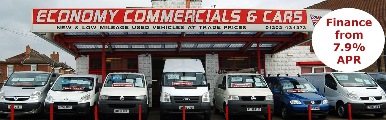 New & Used Vans for Sale at Trade Prices from Economy Commercials in Dorset