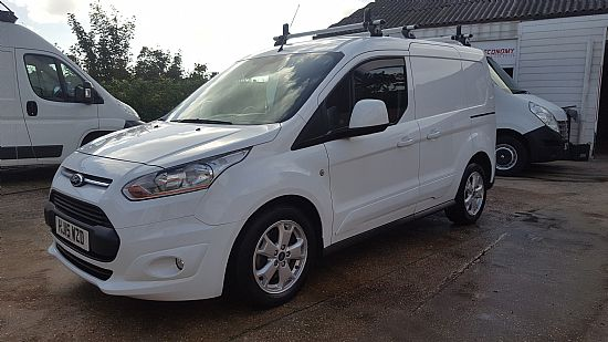 2015 '15' Ford Connect T200 L1 SWB Limited 115 BHP