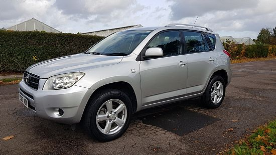 used vehicle 2007 '07' Toyota Rav-4 XT3 2.2 D4D 4x4