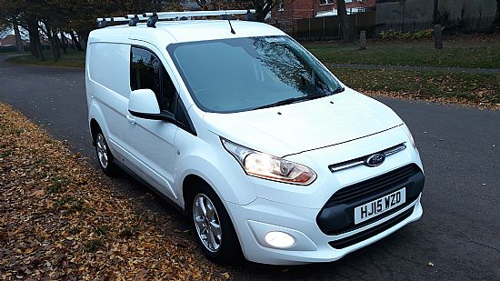 used vehicle 2015 '15' Ford Connect Limited SWB 115 BHP