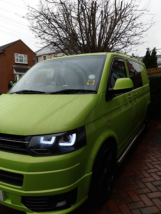 2008 '08' VW Transporter T5 Special Edition 8 seats