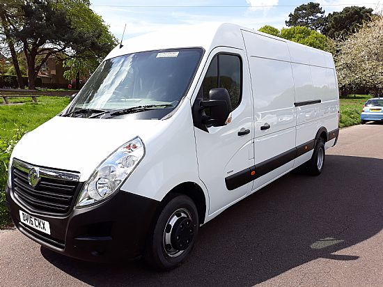 used vehicle 2016 '16' Vauxhall Movano L4 H2