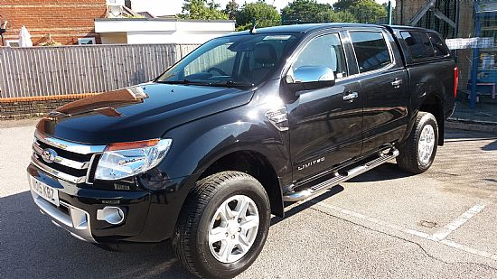 used vehicle 2015 '15' Ford Ranger Limited 4X4 Double Cab