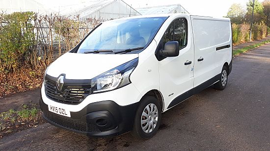 2015 '15' Renault Trafic LWB Business 1.6 DCI 115 BHP
