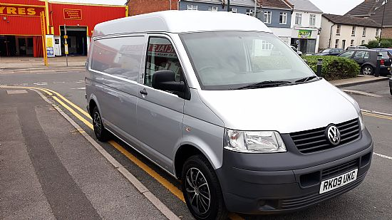 used vehicle 2009 '09' VW Transporter NO VAT LWB